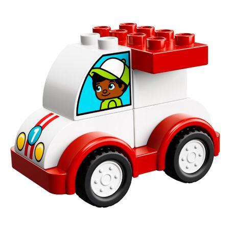 LEGO DUPLO - O Meu Primeiro Carro de Corrida