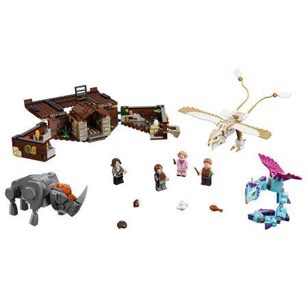 LEGO Animais Fantásticos - A Mala de Criaturas Magicas de Newt
