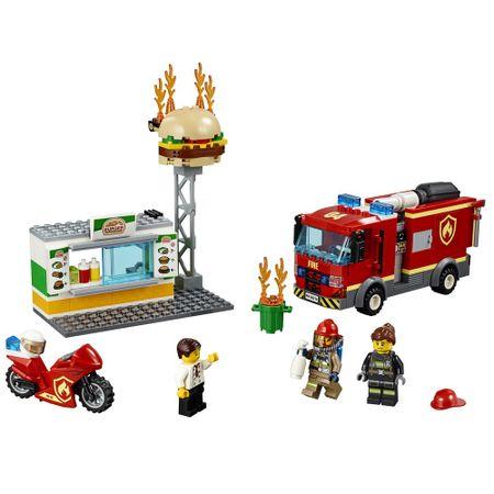 LEGO City - Resgate na Hamburgueria