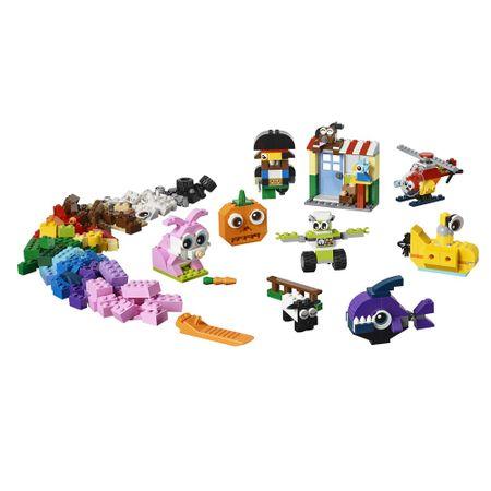 LEGO Classic - Peças e Olhos