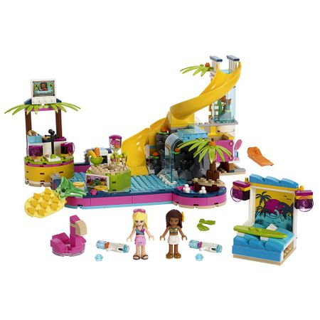 LEGO Friends - A Festa na Piscina da Andrea