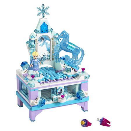 LEGO Disney - A Criação do Porta-Joias da Elsa