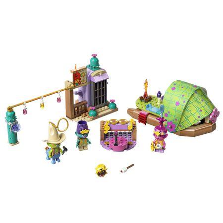 LEGO Trolls - Aventura de Jangada no Pantano Isolado