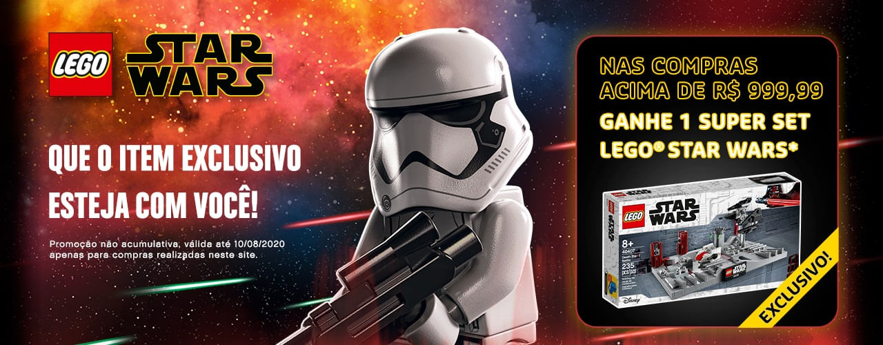 Brinde Exclusivo Star Wars