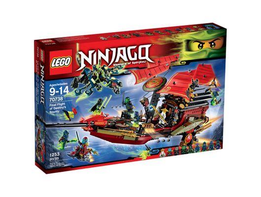 LEGO Ninjago Voo Final do Barco do Destino Código: 70738