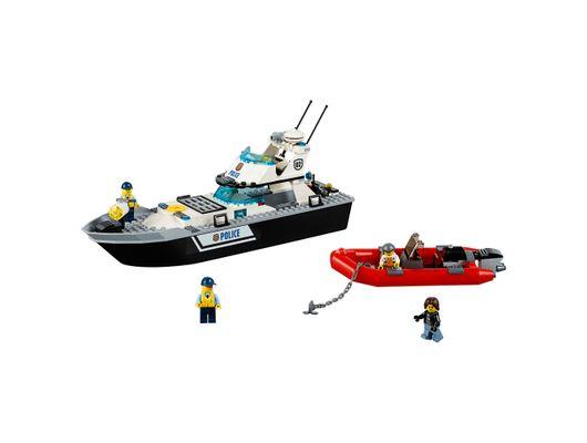 LEGO City - Barco de Patrulha da Polícia Código: 60129