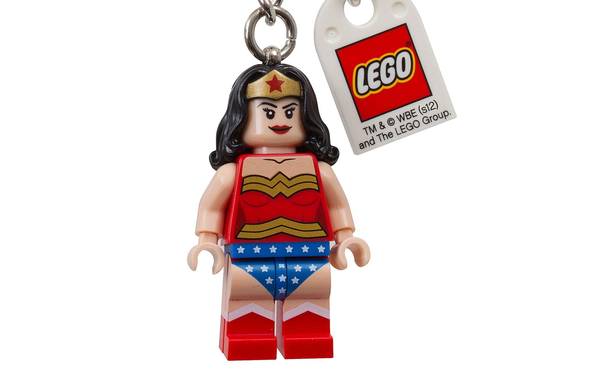 Lego Chaveiro Super Heroes Mulher Maravilha Lego