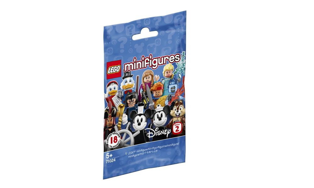 LEGO Minifigures 71024 Disney Series 2 Limited Edition 10x Sealed Packets NEW