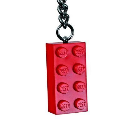 LEGO Chaveiro - Bloco Vermelho de LEGO®